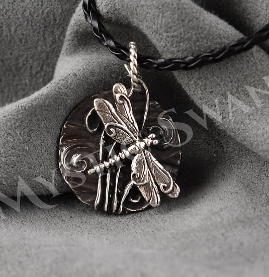 Spirit Dragonfly Necklace/Pendant in Sterling Silver