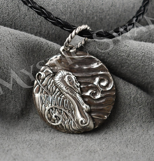 Spirit Turkey Necklace/Pendant in Sterling Silver