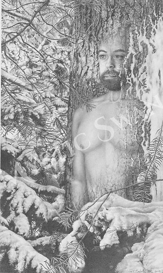 """""""Solitude"""" Giclee Print from """"Spirits Within Series"""""""