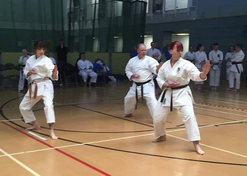 April 2019 Seniors Team Kata KUGB Champi