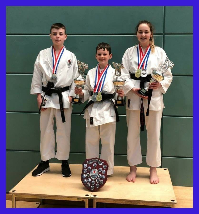 April 2019 Juniors success KUGB Champion