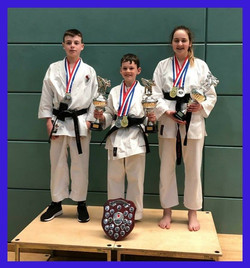April 2019 Juniors success KUGB Champion