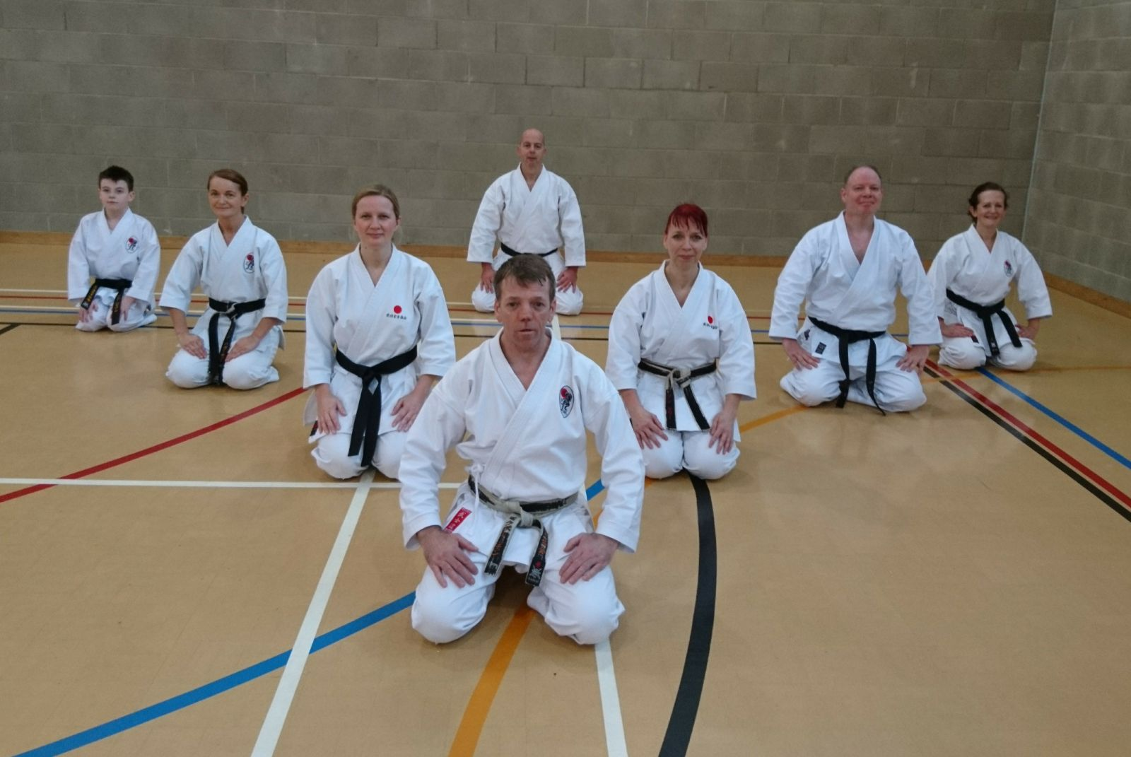 Black Belts assembled Shodan_NIdan_Sanda