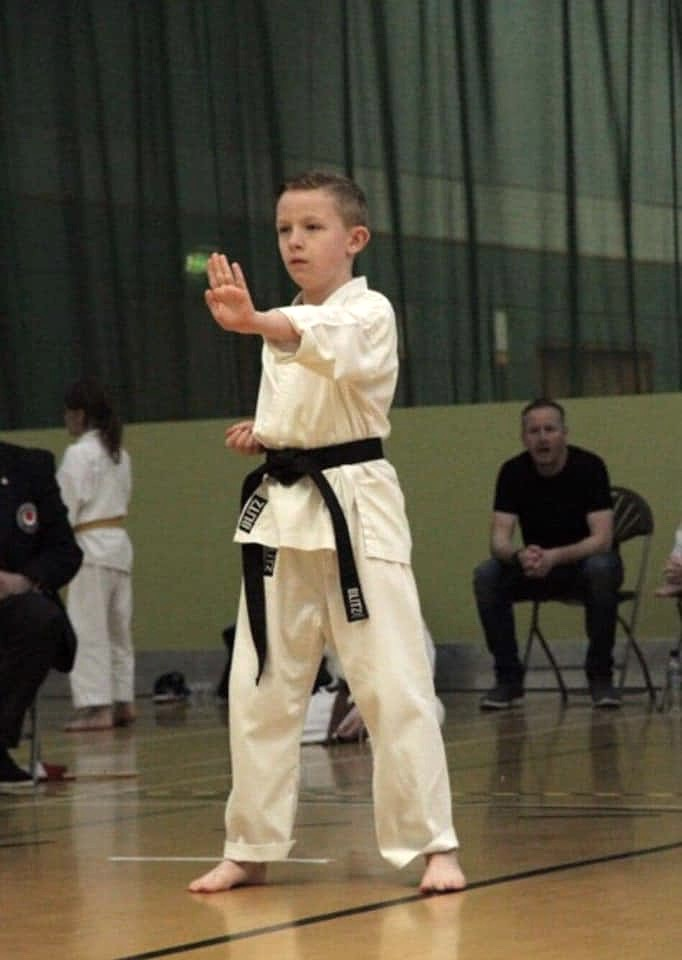 April 2019 Ewan Juniors Kata KUGB Champi