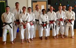 Our extended family_fellow karateka Apri