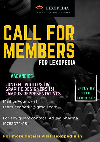 Internship under Lexopedia Poster.png