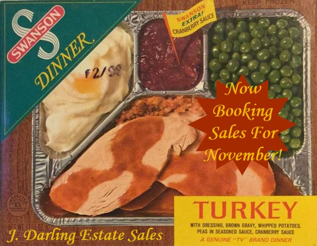J. Darling Estate Sales is now booking sales for November!