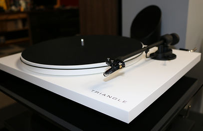 home audio stereo vinyl Triangle hifi turntable
