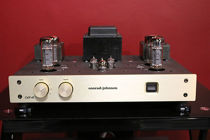 Conrad Johnson CAV-45 integrated amplifier hifi