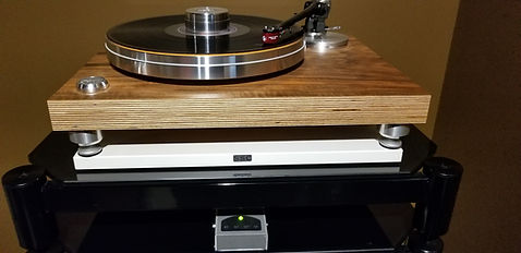 Home audio vinyl turntable Acoustic Solid