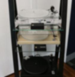 Home audio hifi vinyl Gold Note turntables