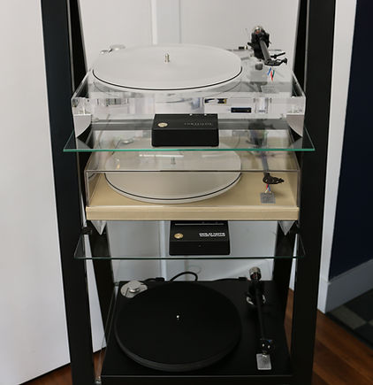 Home audio hifi vinyl Gold Note turntables