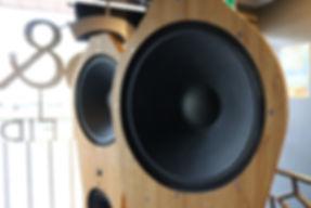 Home audio hifi stereo speaker tri art