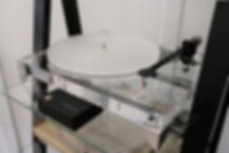 Home audio hifi Gold Note vinyl turntable