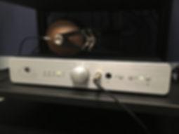 Home audio stereo headphone amplifier DAC