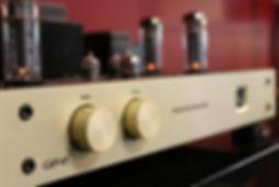 home audio conrad johnson tube amplifier