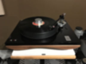 Home audio stereo hifi turntable record player Gold Note