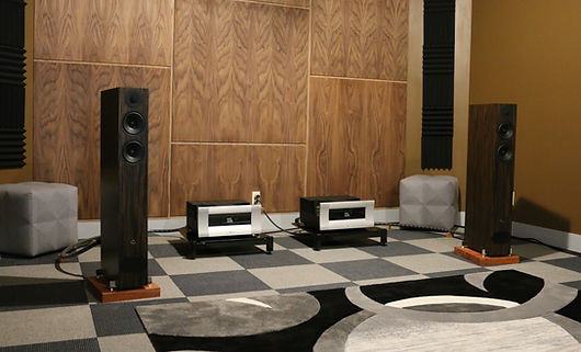 home audio hifi stereo speakers tube amp listening room