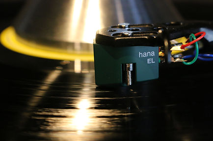 Home audio vinyl turntable hana cartridge vinyl