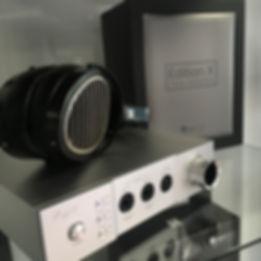 Home audio Cayin iHA6 headphone amp HIFIMAN Edition X headphones