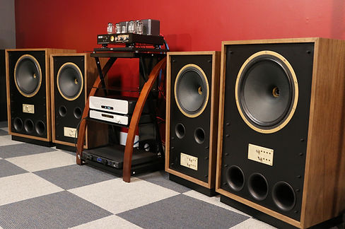 Home audio stereo hifi Tannoy loudspeakers Audio Space tube amp