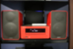 Home audio stereo mini system