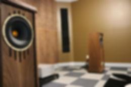 home audio speakers high end listening room
