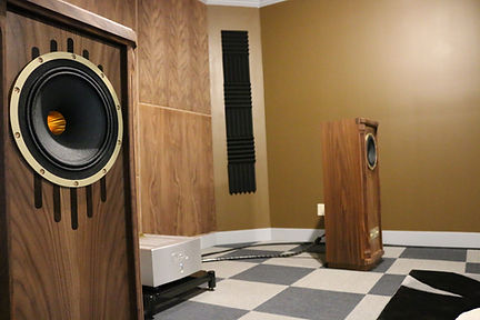 home audio speakers high end listening room