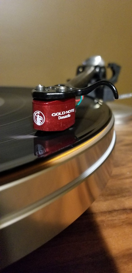 Home audio vinyl turntable cartridge Gold Note