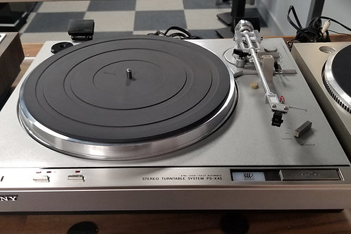 SONY PS-X45 DD tuntable with as new Grado F1+