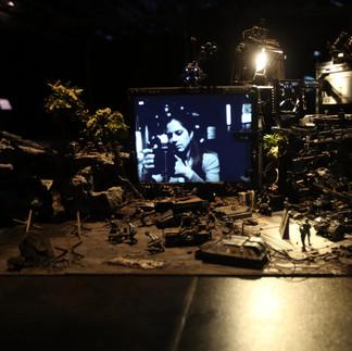 HIROTO IKEUCHI / Desk Turned Diorama © Pauline Manet