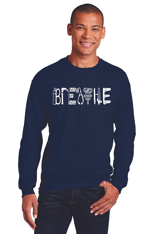 Respiratory Therapy Breathe Crew Neck Sweatshirt