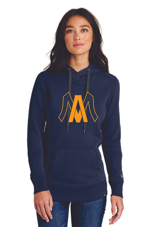 Algonac Baseball Ladies New Era® French Terry Pullover Hoodie