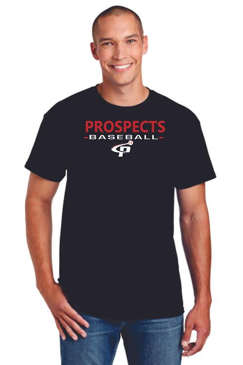 Prospects Baseball Dry Blend Short Sleeve T-shirt Full Logo