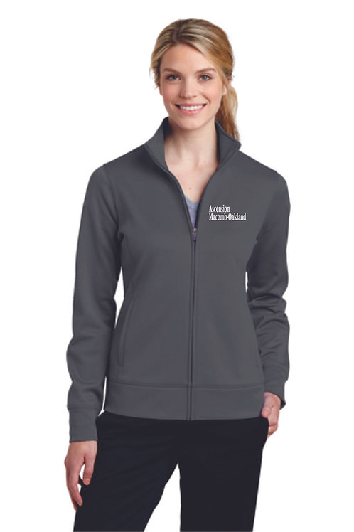 Ascension Ladies Sport-Tek® Sport-Wick® Fleece Full-Zip Jacket