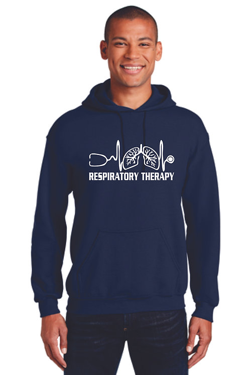 Respiratory Therapy Heartbeat Hoodie