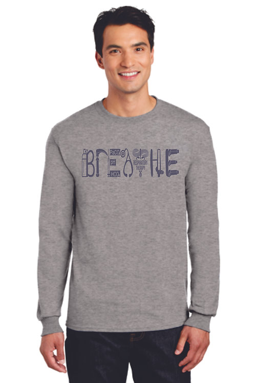 Respiratory Therapy Breathe Long Sleeve Shirt