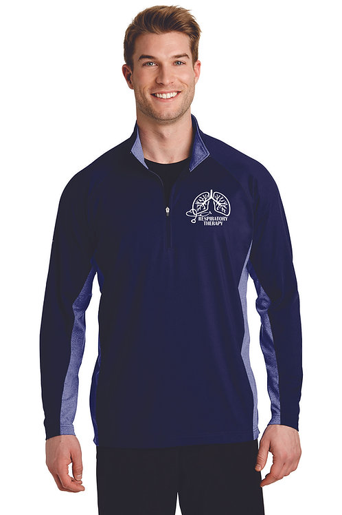 Respiratory Therapy Lungs Unisex 1/4 Zip Up