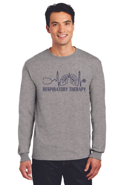 Respiratory Therapy Heartbeat Long Sleeve Shirt