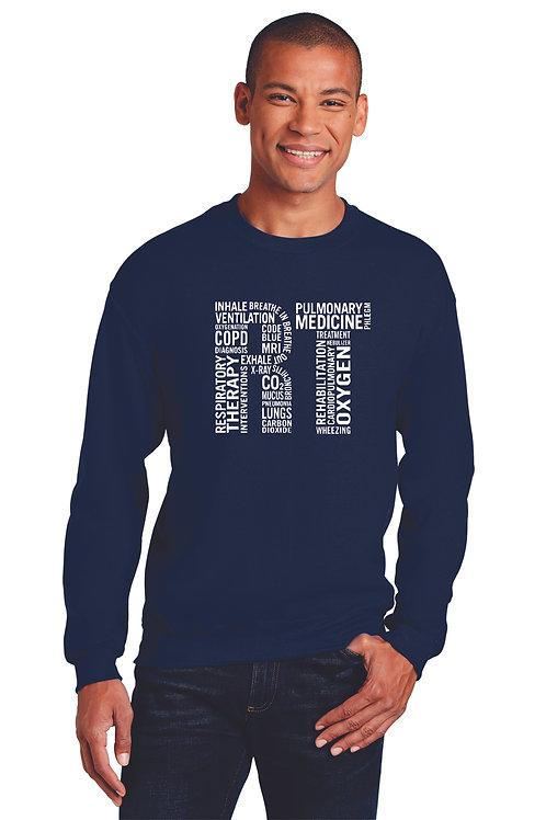 Respiratory Therapy Subway Crew Neck Sweatshirt
