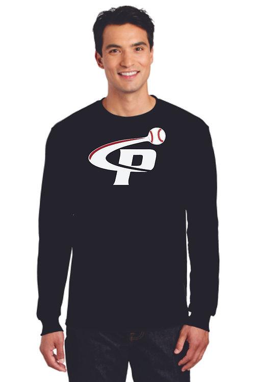 "Prospects Baseball Dry Blend Long Sleeve T-shirt ""P"" Logo"