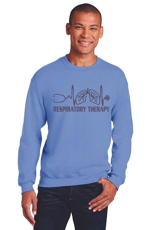 Respiratory Therapy Heartbeat Crew Neck Sweatshirt
