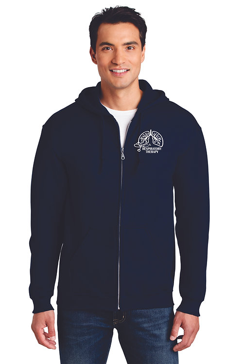 Respiratory Therapy Lungs Zip Up Hoodie