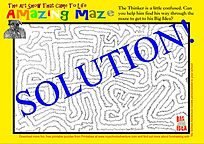The Amazing Maze (The Art Show That Came To Life) - Solution