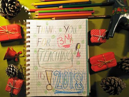 Best teacher gift idea for Christmas? A Teacher Appreciation Book!