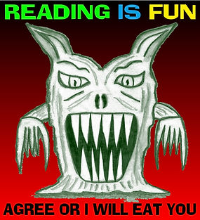 Reading is Fun Monster