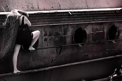 Facebook - Submarine on dry land