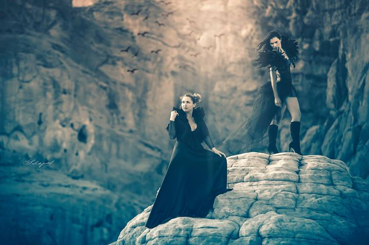 The sorrows of darkness arise at evenings_Mod_ Tiki Dafna & Natali Boychuk_Styling & desigen _ Natal