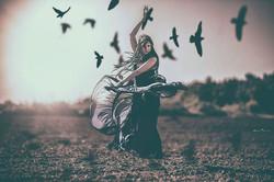 Black birds fill my mind_Mod_ Ayala Haimov Art - new