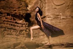 Red rock shelter me_Mod_ Tiki Dafna_Cloth